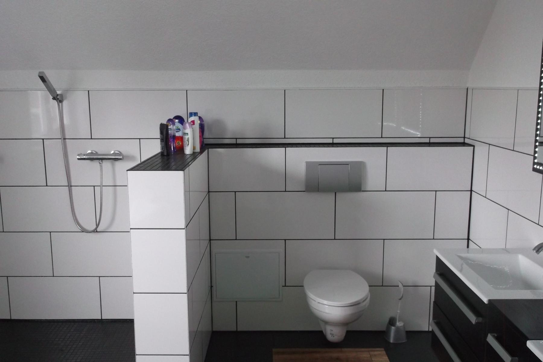 räumlich getrenntes Hänge-WC