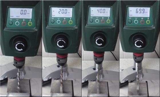 Bosch PBD 40 Test Tischbohrmaschine