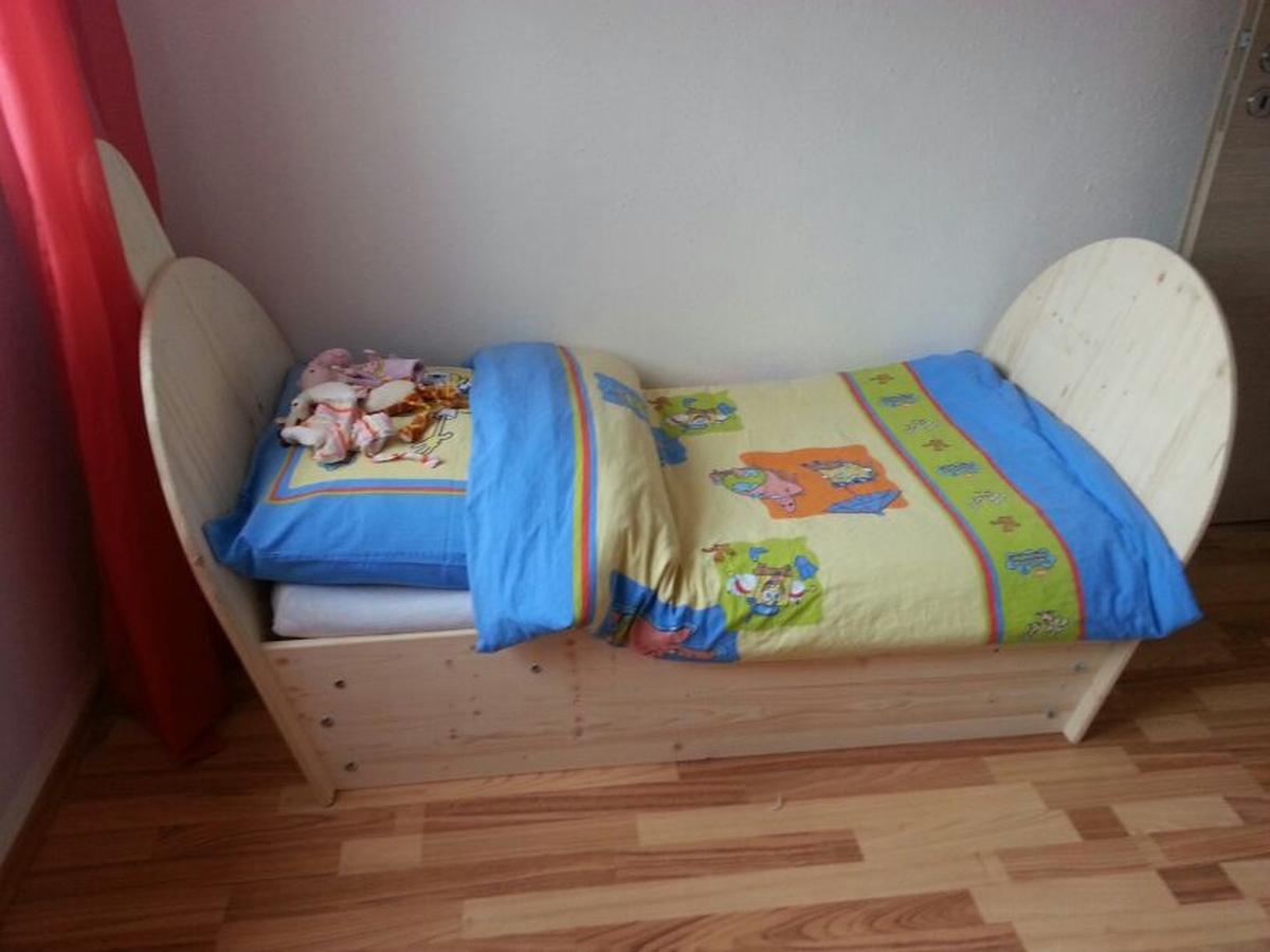 Kinderbett im Eigenbau