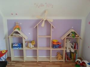 Regalwand für Kinderzimmer