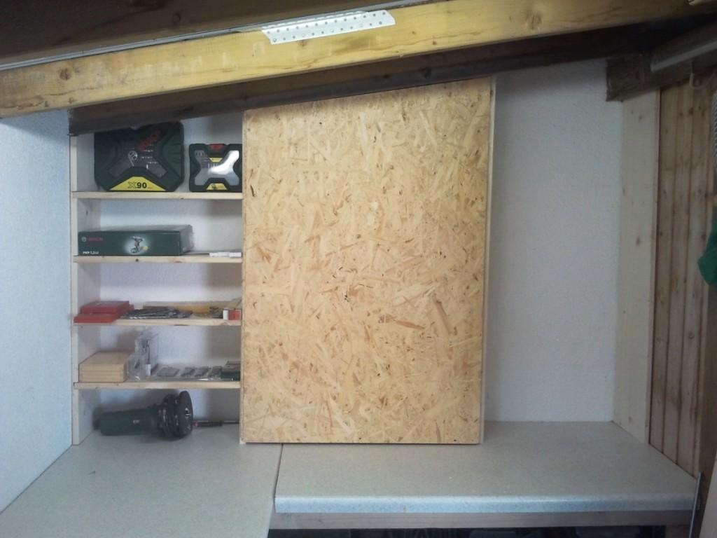 Werkstattregal selber bauen