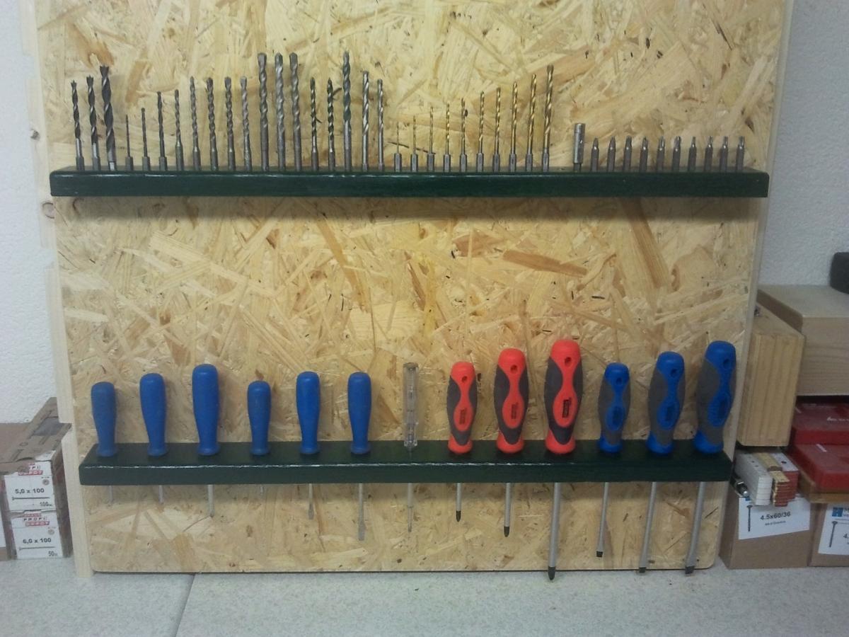 Diy werkstatt - Grune wand selber bauen ...