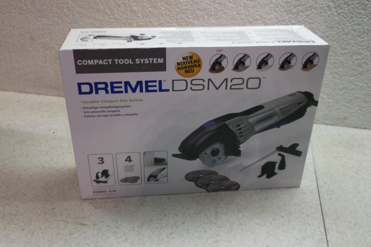 Produkttest Dremel DSM20 – 1.Aufgabe