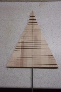 Weihnachtsbaum bauen