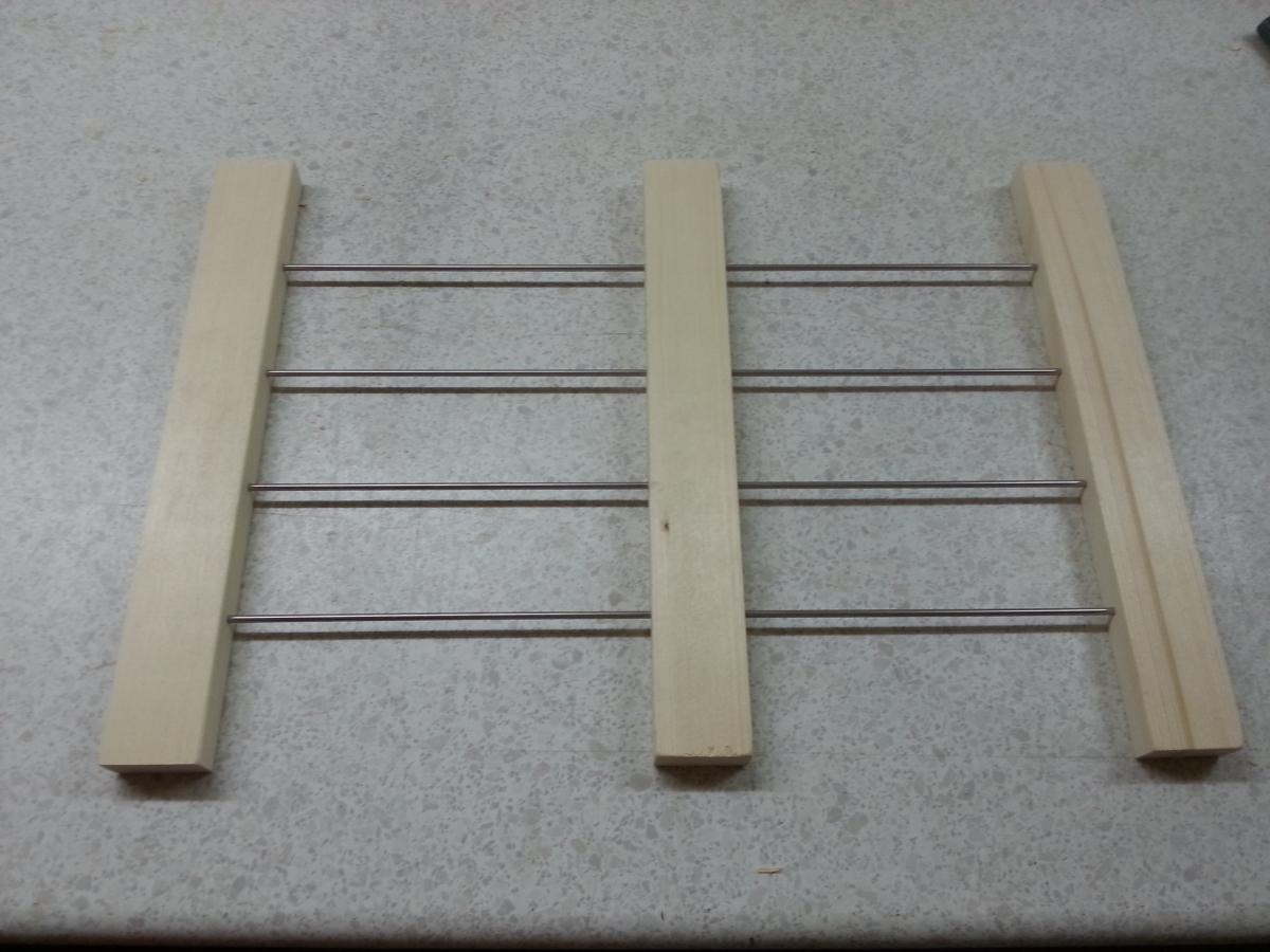 Notenblatthalter aus Holz