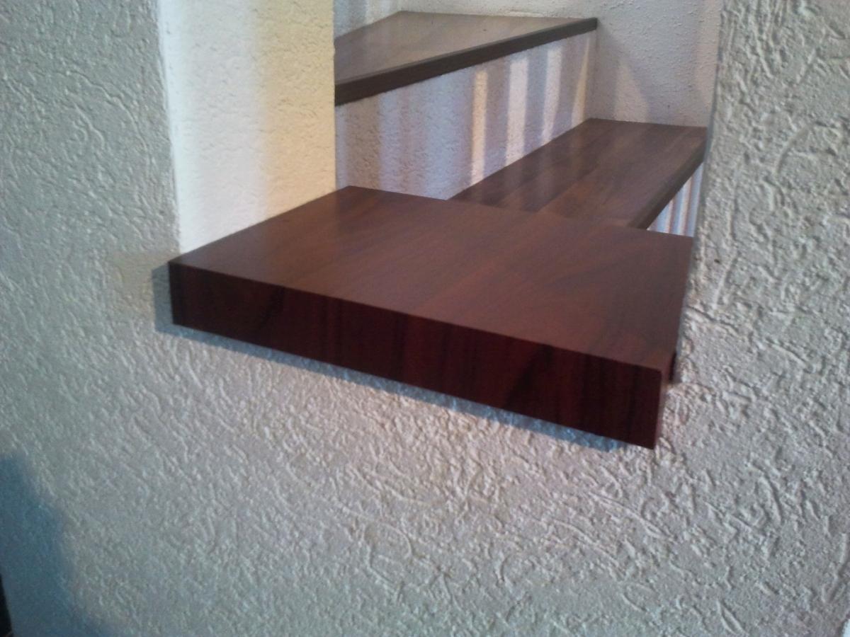 Fensterbänke für die Treppe