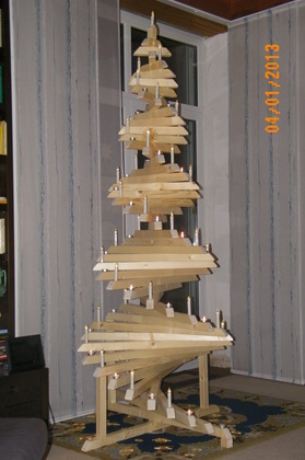 bastelfux weihnachtsbaum holz i and diy. Black Bedroom Furniture Sets. Home Design Ideas