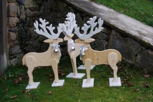Rentiergruppe Weihnachtsdekoration