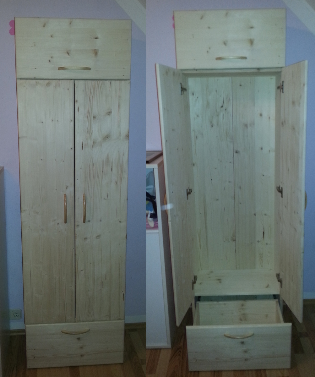 projekt kleiderschrank 1 i and diy. Black Bedroom Furniture Sets. Home Design Ideas