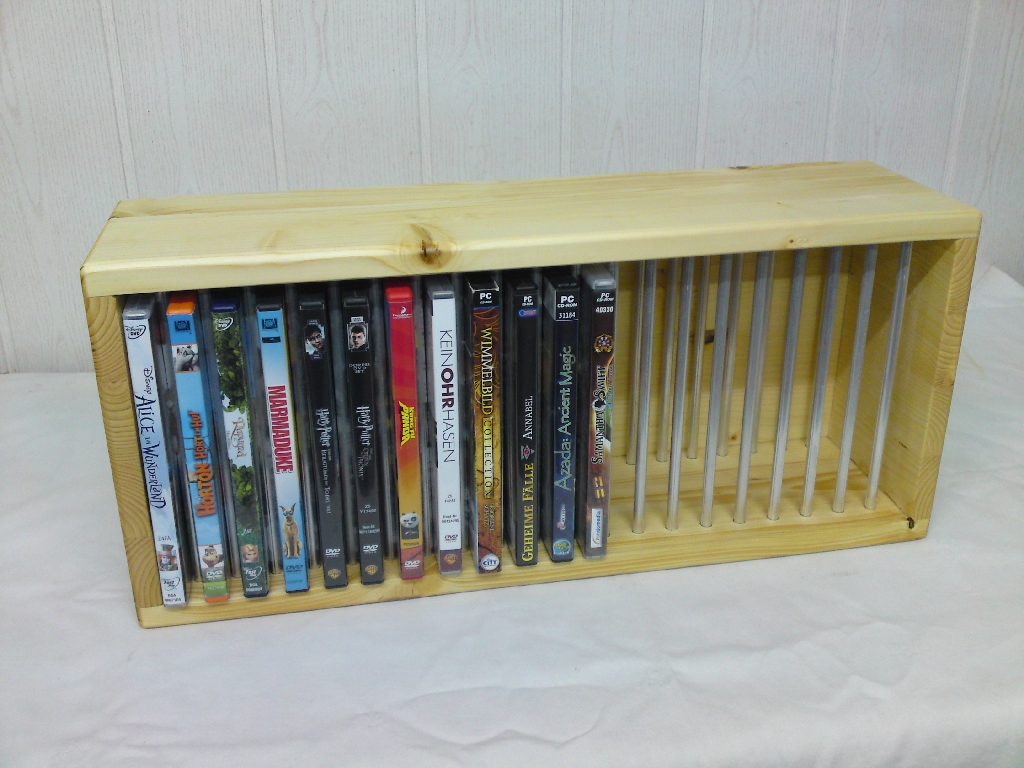 dvd regal archive i and diy. Black Bedroom Furniture Sets. Home Design Ideas