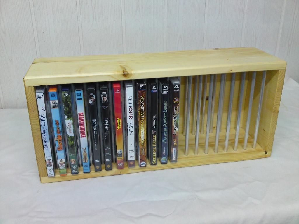Eigenbau – DVD-Regal