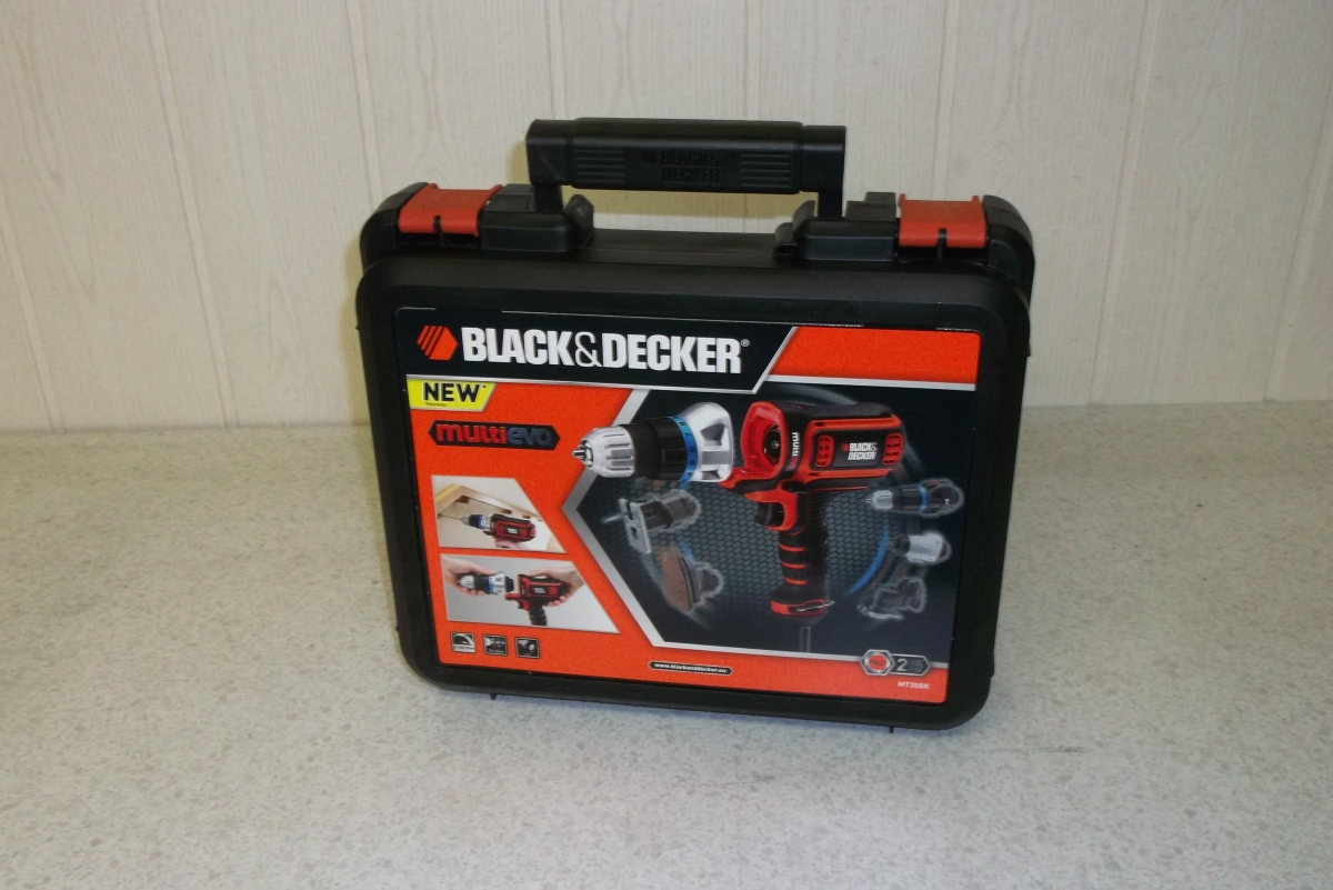 black decker multievo mt350k im test. Black Bedroom Furniture Sets. Home Design Ideas