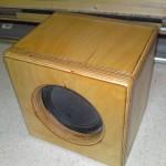 Box aus Multiplex