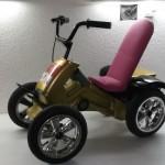 Choppersitz für den Akkuschrauberrenner