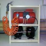 Kompressor aus Kühlschrankaggregaten