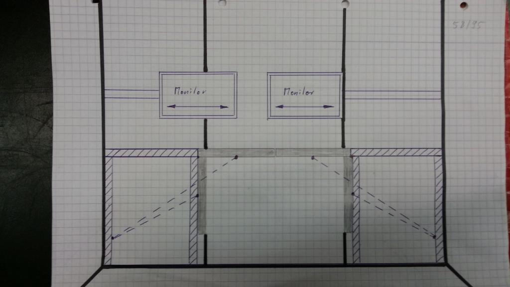 automatischer Schreibtisch