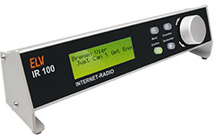 Internet-Radio IR100 im ALU-Profilgehäuse, Komplettbausatz