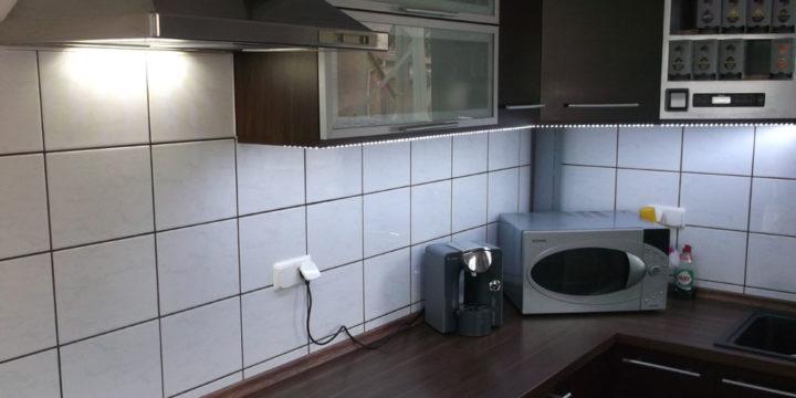 Küchenbeleuchtung – LED Beleuchtung selber bauen