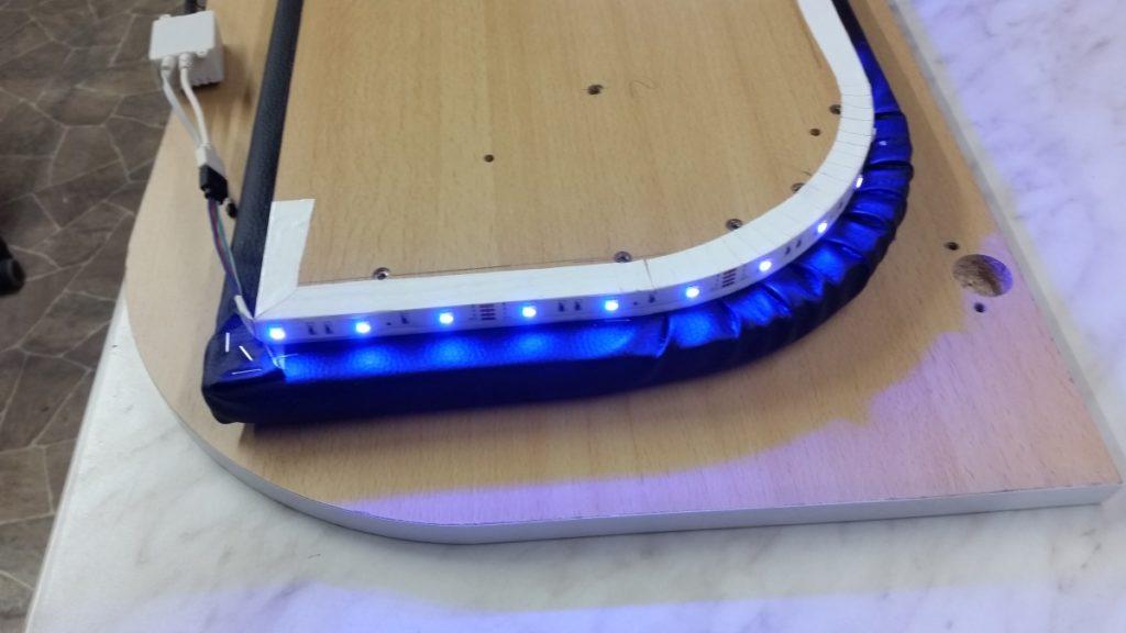Bettkopf mit LED Beleuchtung
