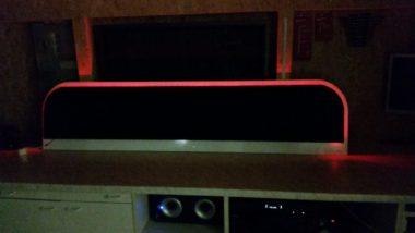 Bettkopf mit RGB-LED