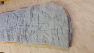 Decke als Polsterung nutzen