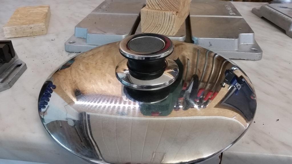 Topfdeckel reparieren