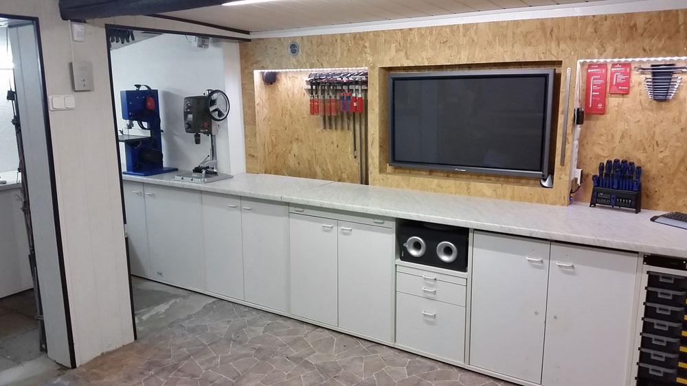 Werkstatt selber bauen