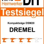 Testsiegel Dremel DSM20