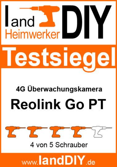 Reolink Go PT Testsiegel