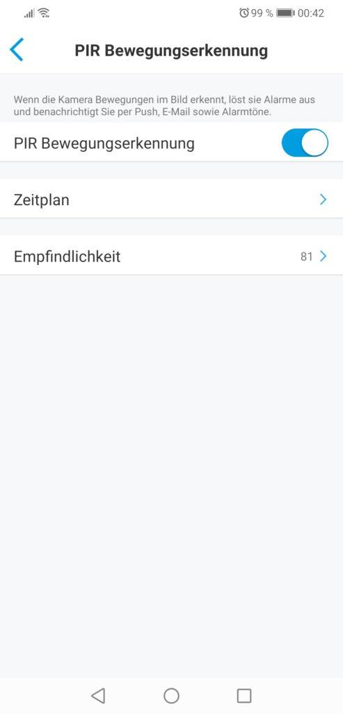Reolink App screenshot