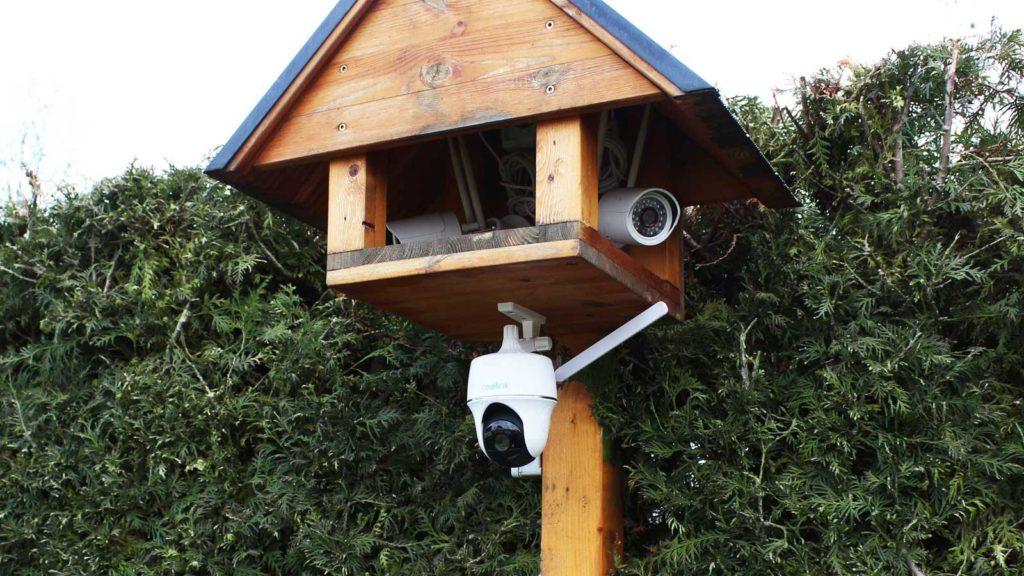 Test Überwachungskamera Reolink Montage