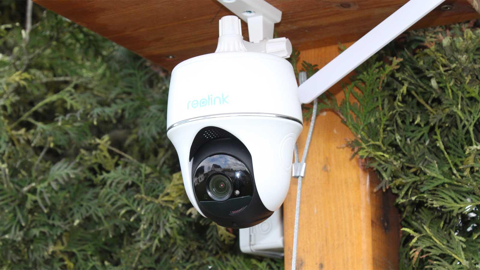 Test Überwachungskamera Reolink Go PT
