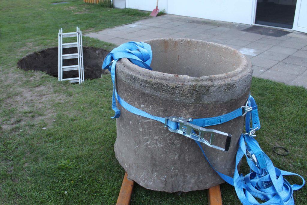 Brunnenring aus Beton