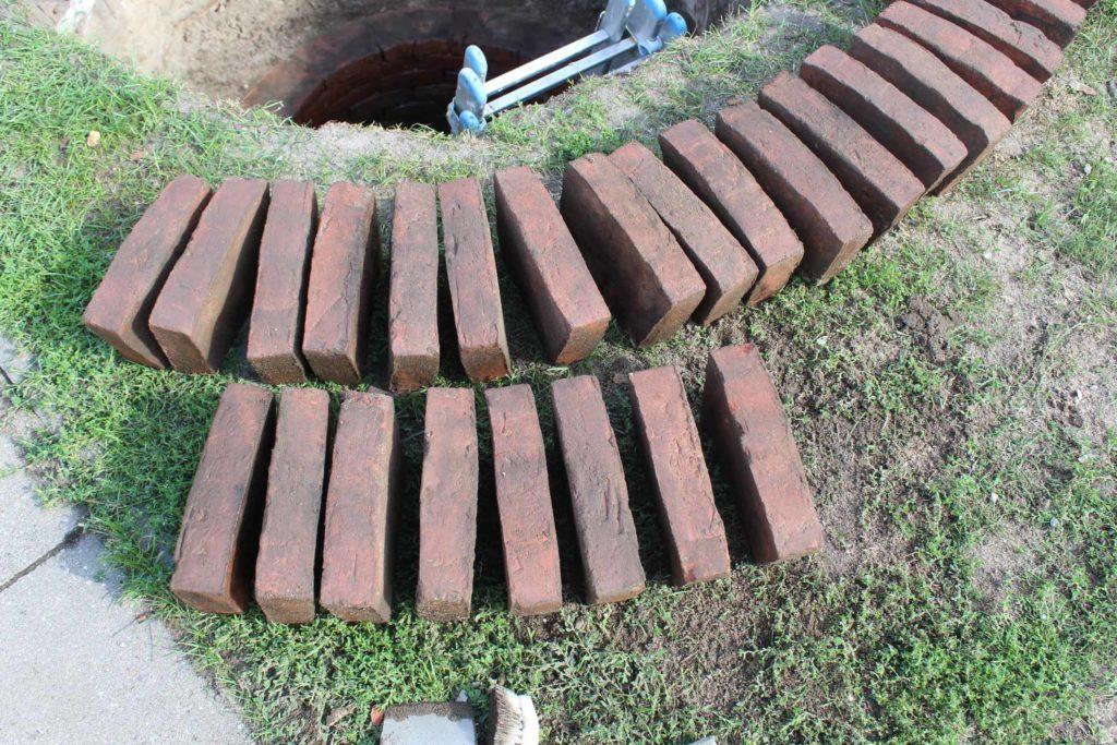 Brunnensteine aufarbeiten