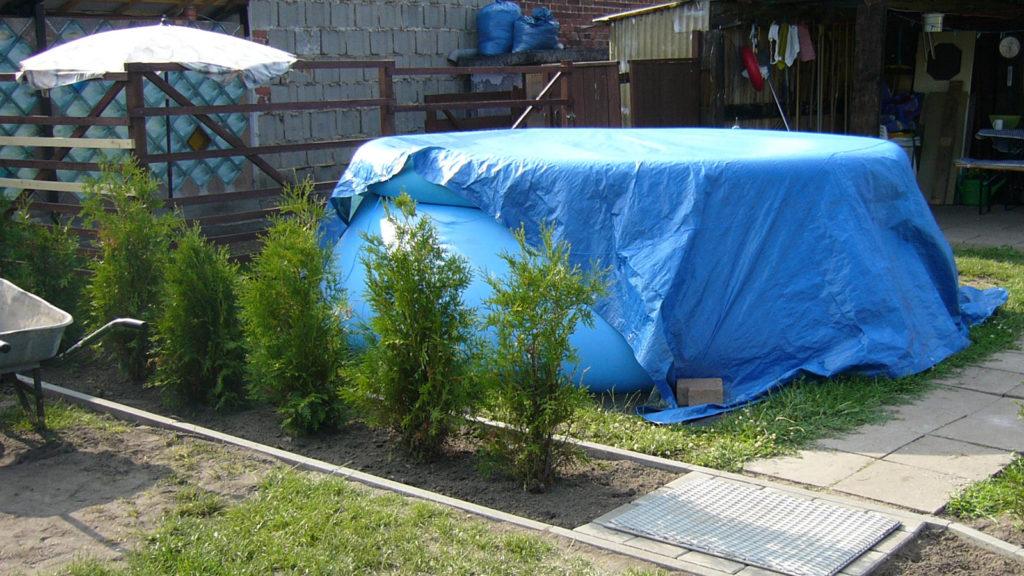 Pool bauen Quickup Pool