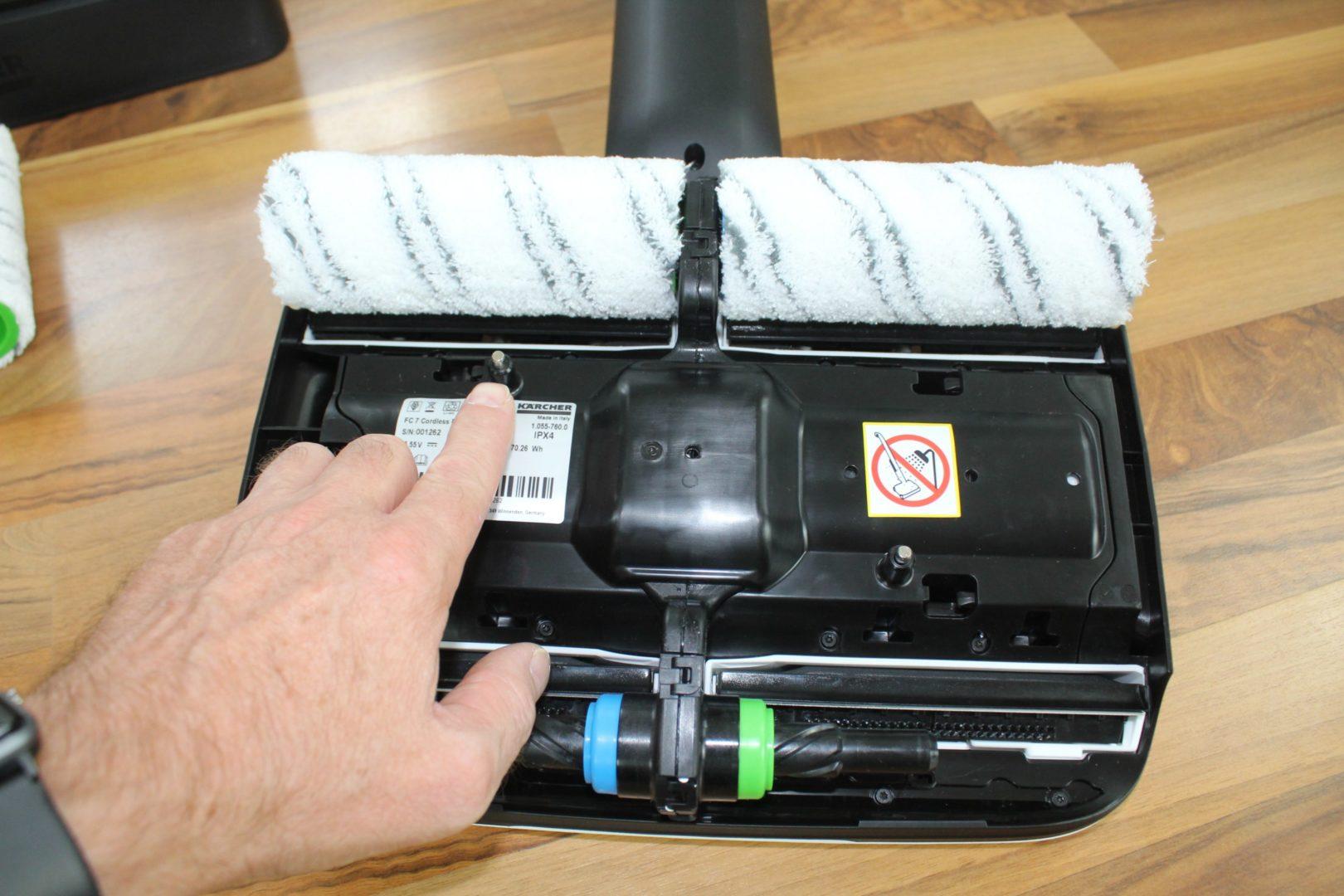 Kärcher FC7 Schmutzwassertank